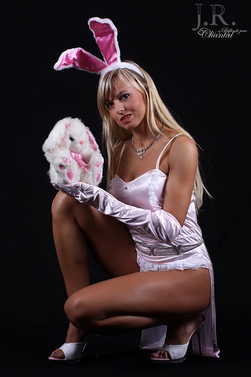 Stripperin als Bunny buchen