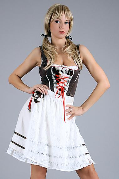 Stripperin als Dirndl buchen - Chantal-Strip.com