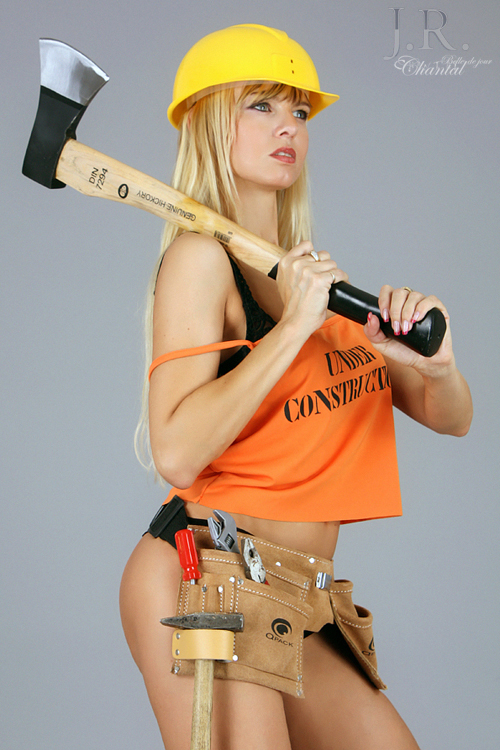 Stripperin als Handwerker buchen