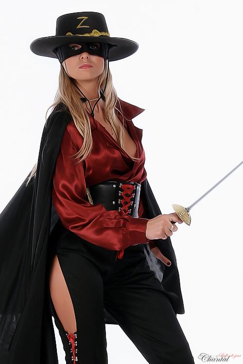 Stripperin als Zorro buchen