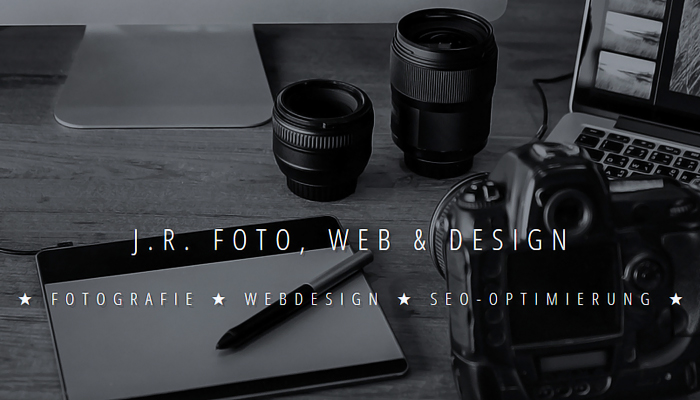 J.R. Foto, Web & Design - Fotografie, Webdesign und SEO in Berlin